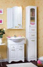Комплект мебели для ванной комнаты Бриклаер Анна 60