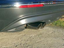 Насадки глушителя, ТСС, вариант II, сталь