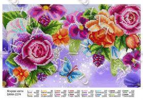 DANA-2274. Яркие Цветы. А3 (набор 650 рублей)
