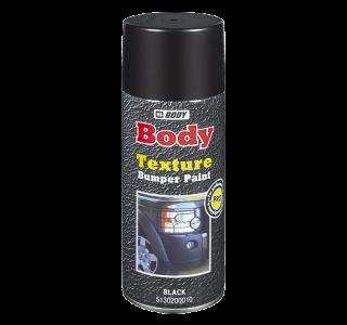 HB Body Спрей-краска Bumper Paint текстурная черная, объем 400мл.