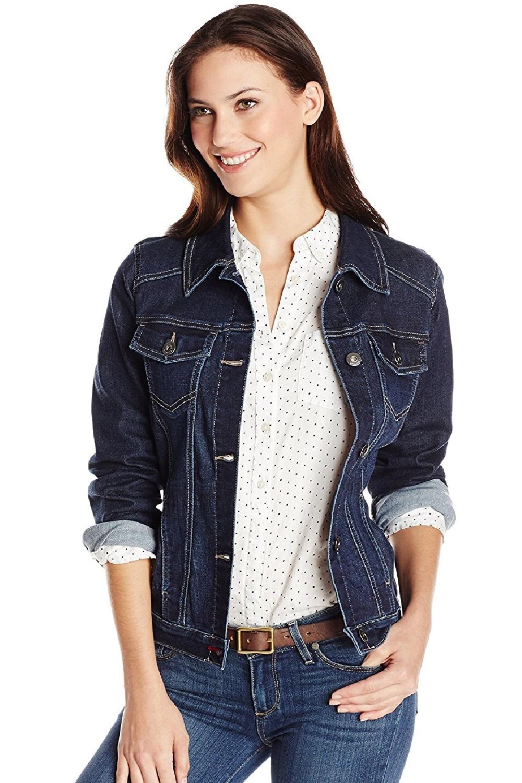 d9d8403618b Женская джинсовая куртка Wrangler