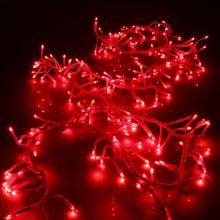 Светодиодная гирлянда уличная 50 метров красная