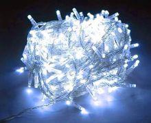 Светодиодная гирлянда уличная 50 метров холодный белый