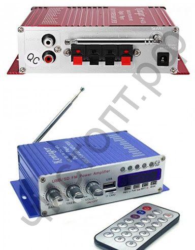 Усилитель звука HY500 (2х20Вт, USB, TF, FM)