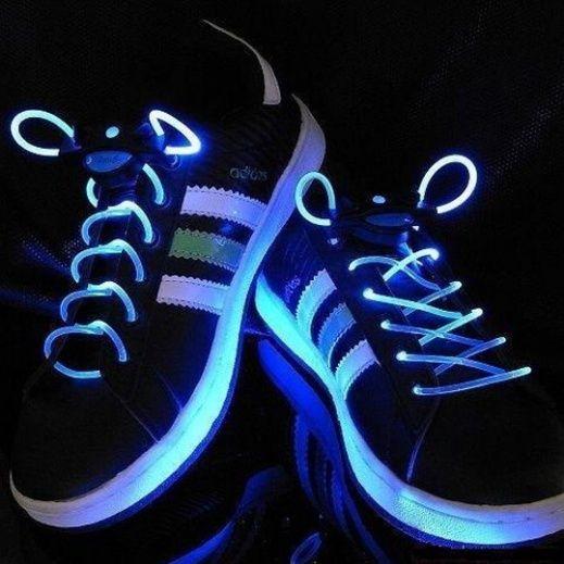 Светящиеся шнурки (цвет синий)
