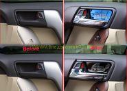 Накладки под ручки в салон для Toyota Land Cruiser Prado 150