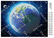 DANA-2217 Dana. Планета Вышивка. А4 (набор 550 рублей)