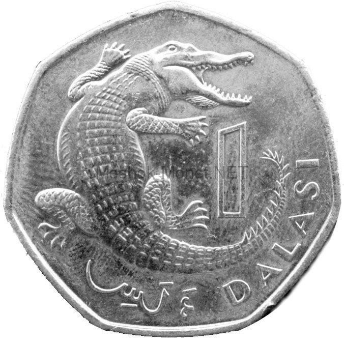 Гамбия 1 даласи 1998 г.