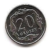 20 грошей  Польша 2017