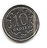 10 грошей  Польша 2017
