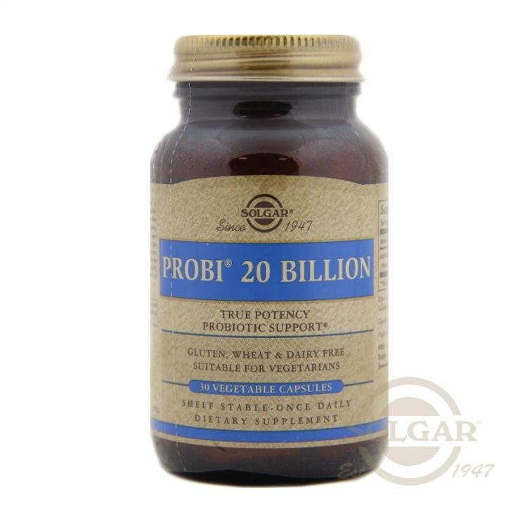 Комплекс пробиотиков Probi 20, 30 капсул