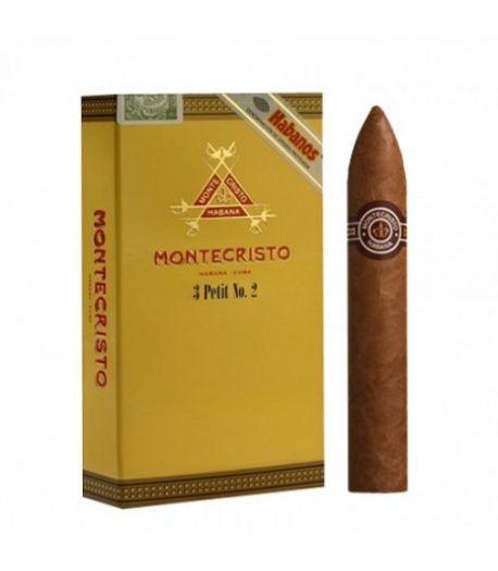 Кубинские сигары Монтекристо Петит (3) Т/А шт