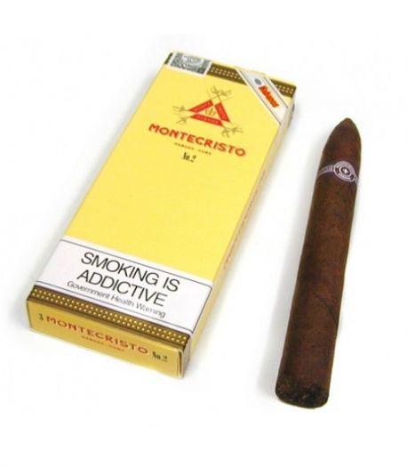 Кубинские сигары Монтекристо №2 (3) пачки