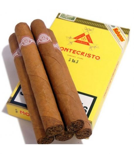 Кубинские сигары Монтекристо №3 (5)