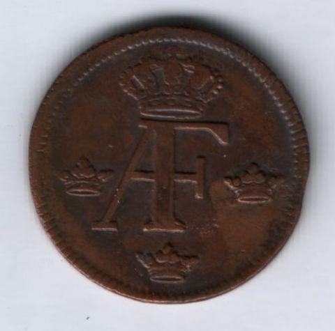 1 эре 1759 г. Швеция XF