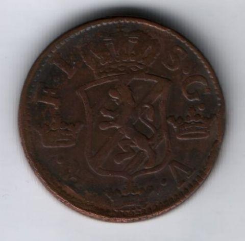 2 эре 1747 г. Швеция XF