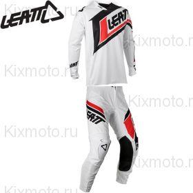 Форма Leatt GPX 4.5 X-Flow V20, Бело-черный