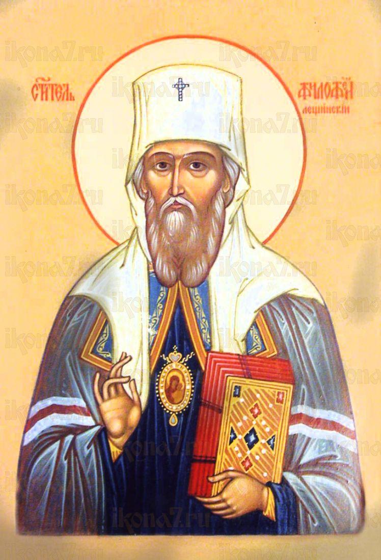 Филофей Тобольский (рукописная икона)