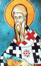 Флегонт Марафонский(рукописная икона)