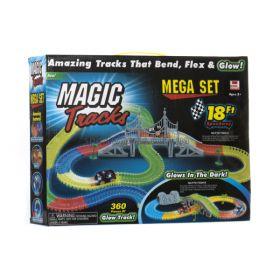 Светящаяся трасса Magic Tracks 360 деталей с мостом