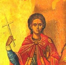 Еварест Критский (рукописная икона)