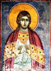 Евдоким Каппадокиянин (рукописная икона)