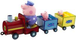 """СТОК по дефекту упаковки Игровой набор """"Паровозик дедушки Пеппы""""Peppa Pig"""