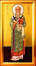 Евсевий Самосатский  (рукописная икона)
