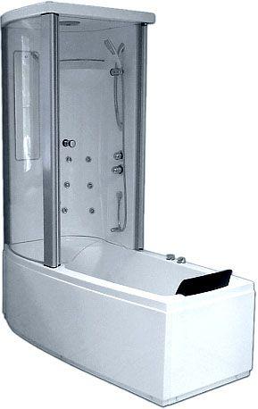 Комбинированная ванна Gemy G8040 B L 170x85 ФОТО