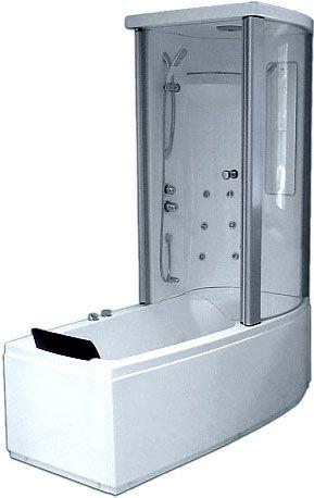 Комбинированная ванна Gemy G8040 B R 170x85 ФОТО