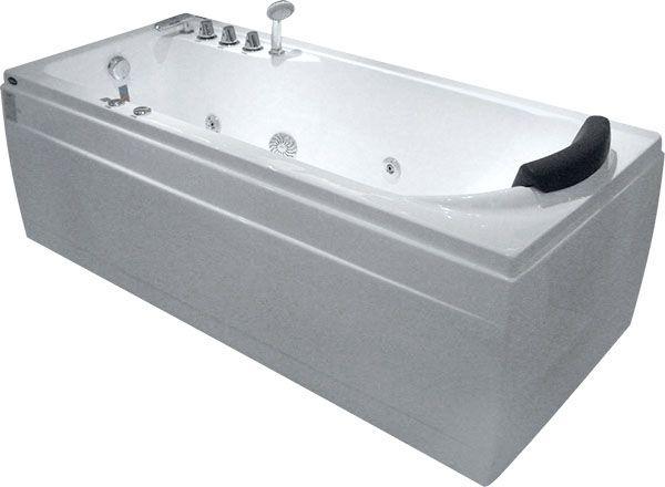Ванна Gemy G9006-1.7 B L 172x77 ФОТО