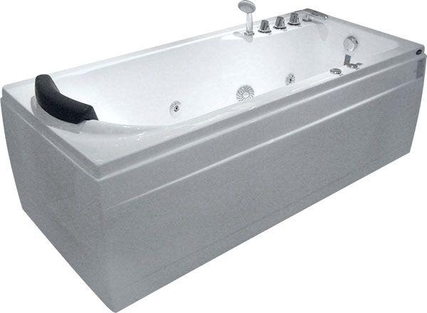 Ванна Gemy G9006-1.7 B R 172x77 ФОТО