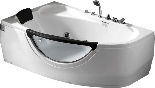 Стеклянная ванна Gemy G9046 B L 161x96 ФОТО