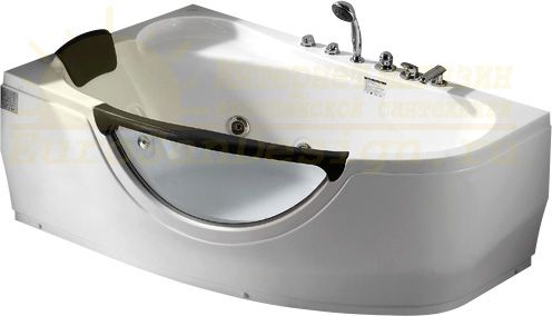 Стеклянная ванна Gemy G9046 II B L 171x99 ФОТО