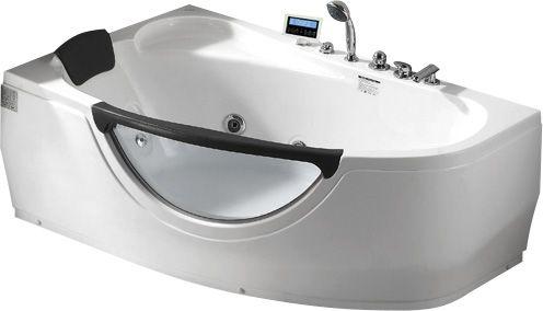 Стеклянная ванна Gemy G9046 II K L 171x99 ФОТО