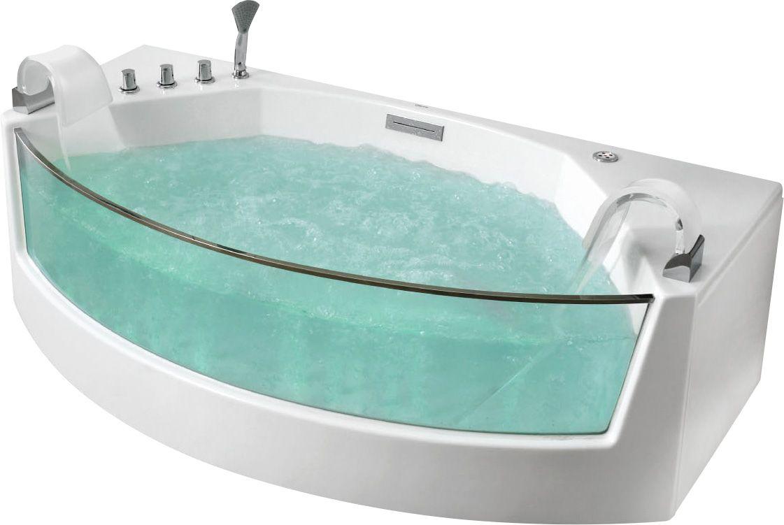 Стеклянная ванна Gemy G9079 200x105 ФОТО