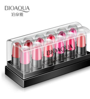 Увлажняющий блеск для губ «BIOAQUA» -набор 12 штук (8853)