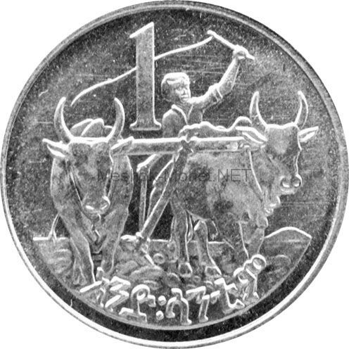 Эфиопия 1 цент