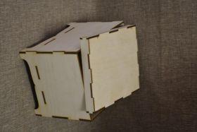 Шкатулка прямоугольная с крышкой 02-031