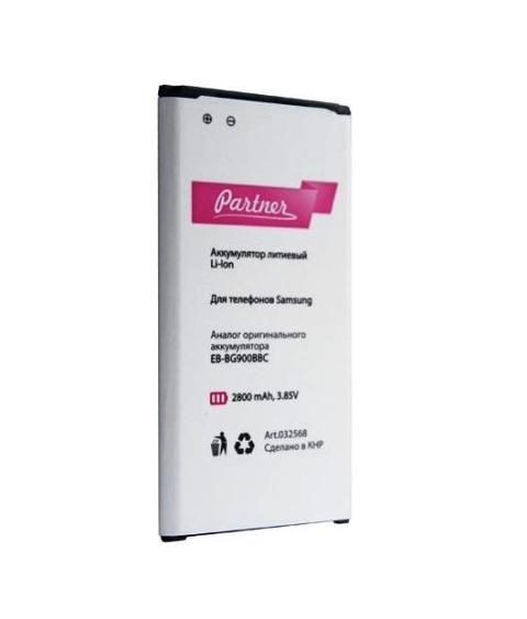Аккумулятор Partner для Samsung Galaxy S5 (EB-BG900BBC), 2800mAh