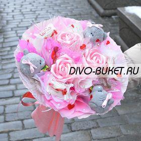 """Букет из конфет №321-3К """"Татьянка"""""""