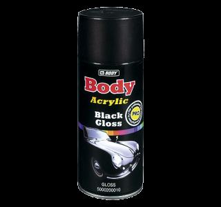 HB Body Спрей-краска Black Gloss глянцевая, объем 400мл.