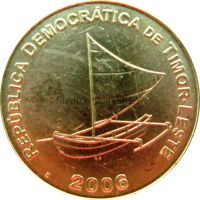 Тимор 25 сентаво 2006 г.