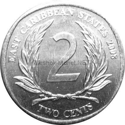 Карибы 2 цента 2004 г.