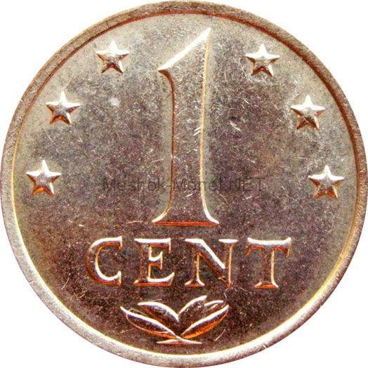 Антильские острова 1 цент 1978 г.