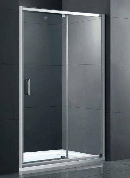 Душевая дверь в нишу Gemy Sunny Bay S28191A 100 см хром ФОТО