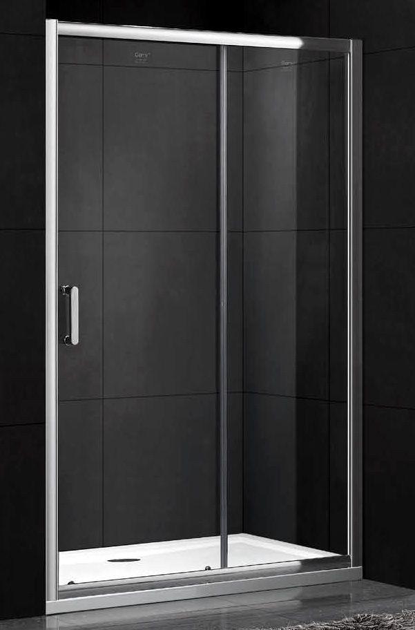Раздвижная душевая дверь Gemy Victoria S30191A 120 см хром ФОТО