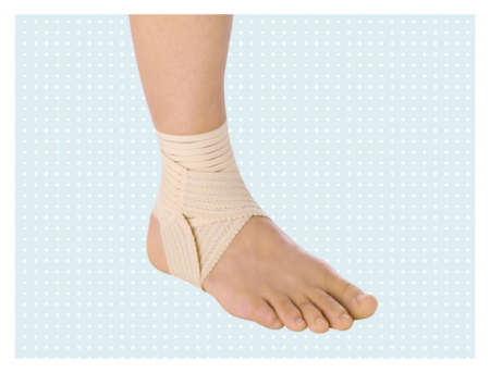 Эластичный голеностопный бандаж Elastic Ankle Support Otto Bock 504