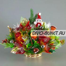 "Букет из конфет №203 ""Зимушка"""