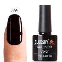 Bluesky (Блюскай) 80559 Dark Dahlia гель-лак, 10 мл
